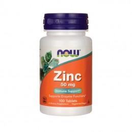 NOW Foods Zinc Cynk 50 mg 100 tab