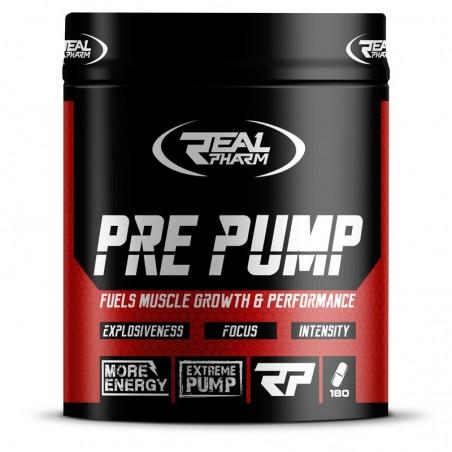 Suplement przedtreningowy Real Pharm Pre Pump 180 tab.
