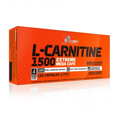 Spalacz tłuszczu OLIMP L-Carnitine 1500 Extreme 120 kaps