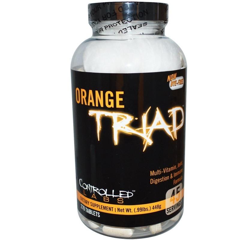 Controlled Labs - Orange Triad - 270 tab
