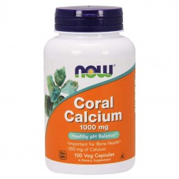 Now Fods Coral Calcium 1000mg 100 kaps