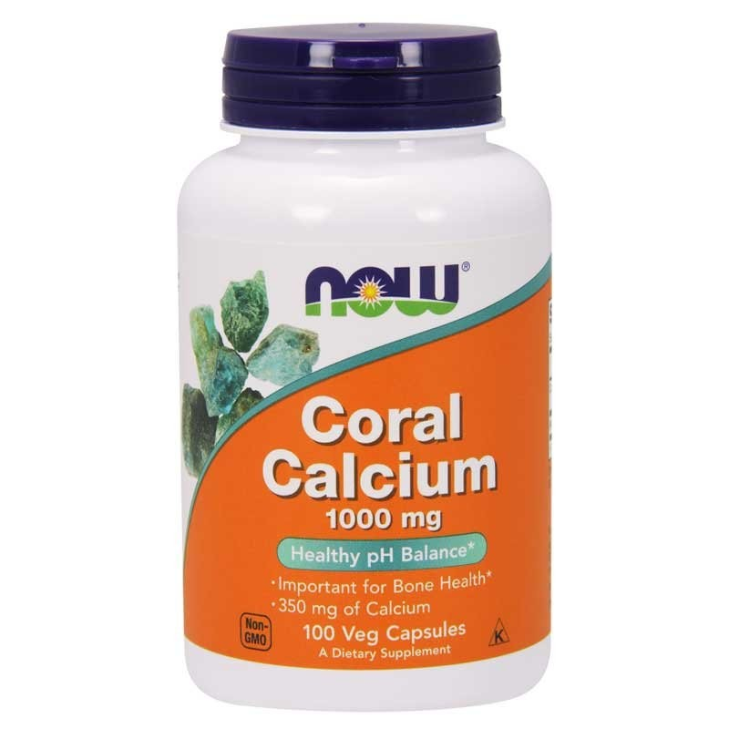 NOW Foods Coral Calcium 1000mg 100 vkaps