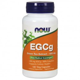 Now Foods EGCg Green Tea Extract 400 mg 180 kaps