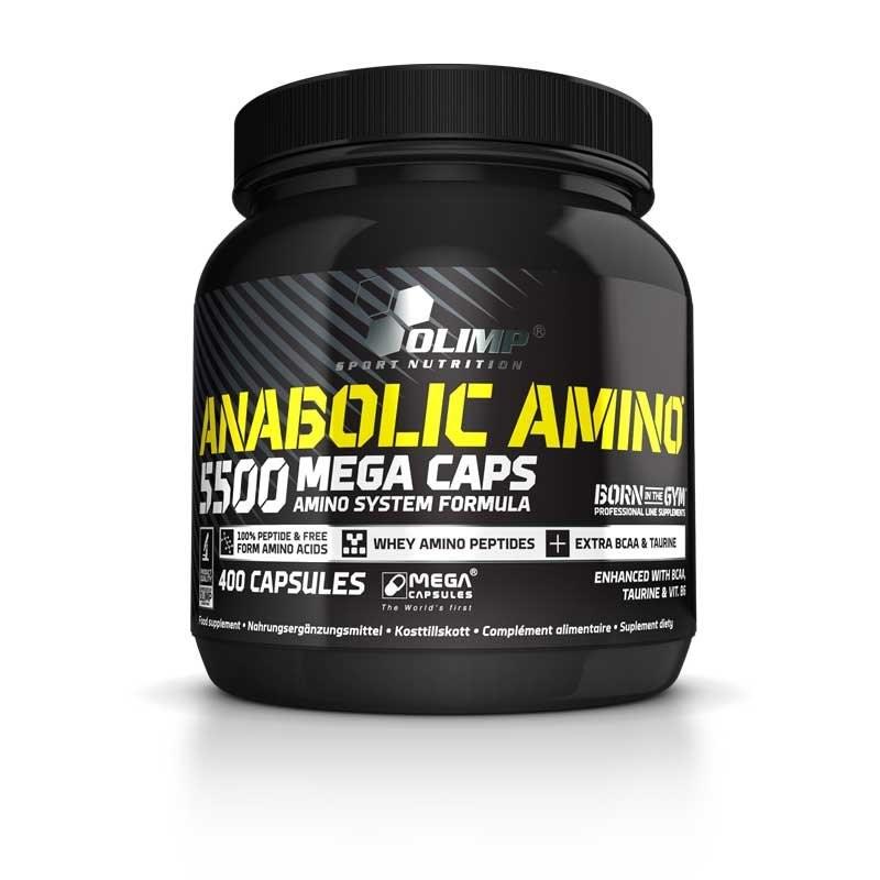 OLIMP Anabolic Amino 5500 MEGA CAPS 400kaps