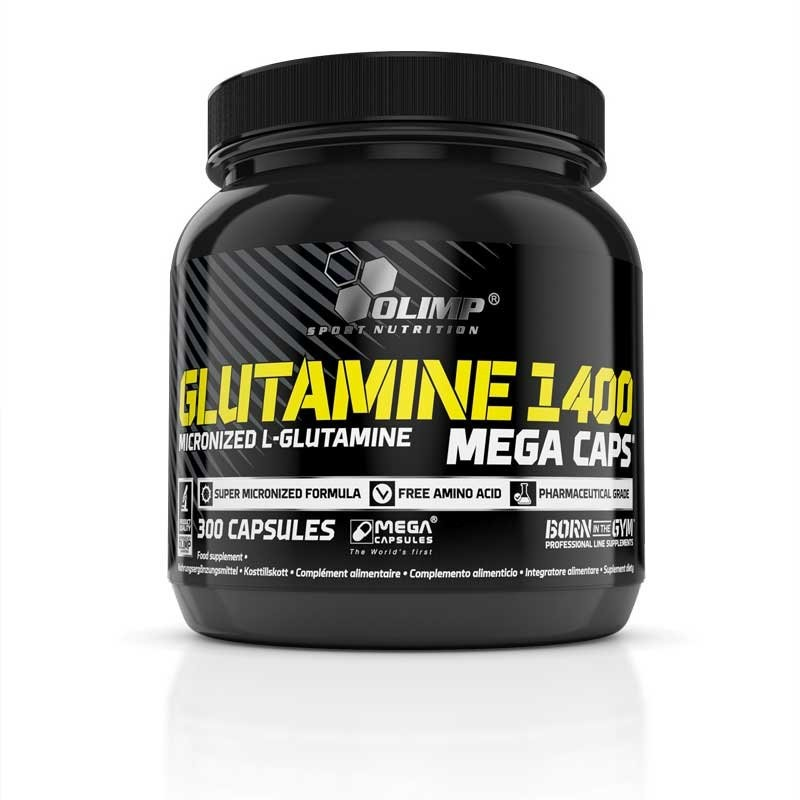 OLIMP Glutamine 1400 MEGA CAPS 300kaps