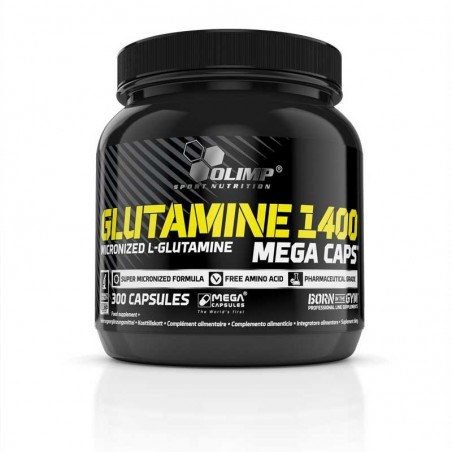 Aminokwasy OLIMP L-Glutamine MEGA CAPS 300kaps