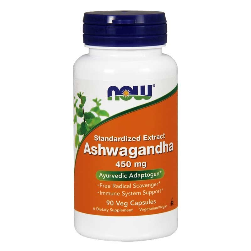 Now Foods Ashwagandha Extract – 90 Kaps