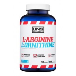 UNS L-ARGININE & L-ORNITHINE 90 tabl.