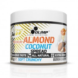Olimp Almond Coconut Spread Soft Crunchy - 300g