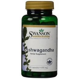 SWANSON Ashwagandha 450mg 100 kaps