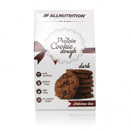 Ciastka proteinowe ALLNUTRITION Protein Cookie Dough dark 130g