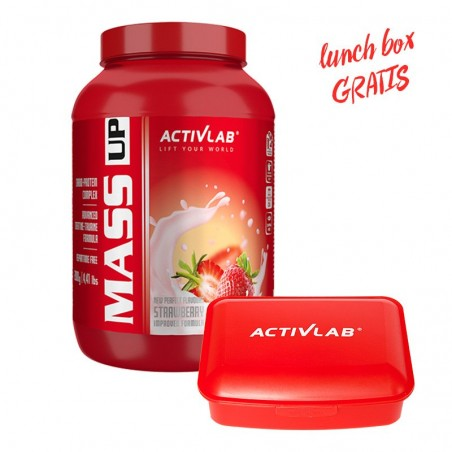 Gainer ACTIVLAB Mass Up 2000g Lunch Box Gratis