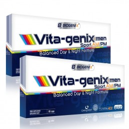 Biogenix Vita-genix™ Men Sport AM/PM