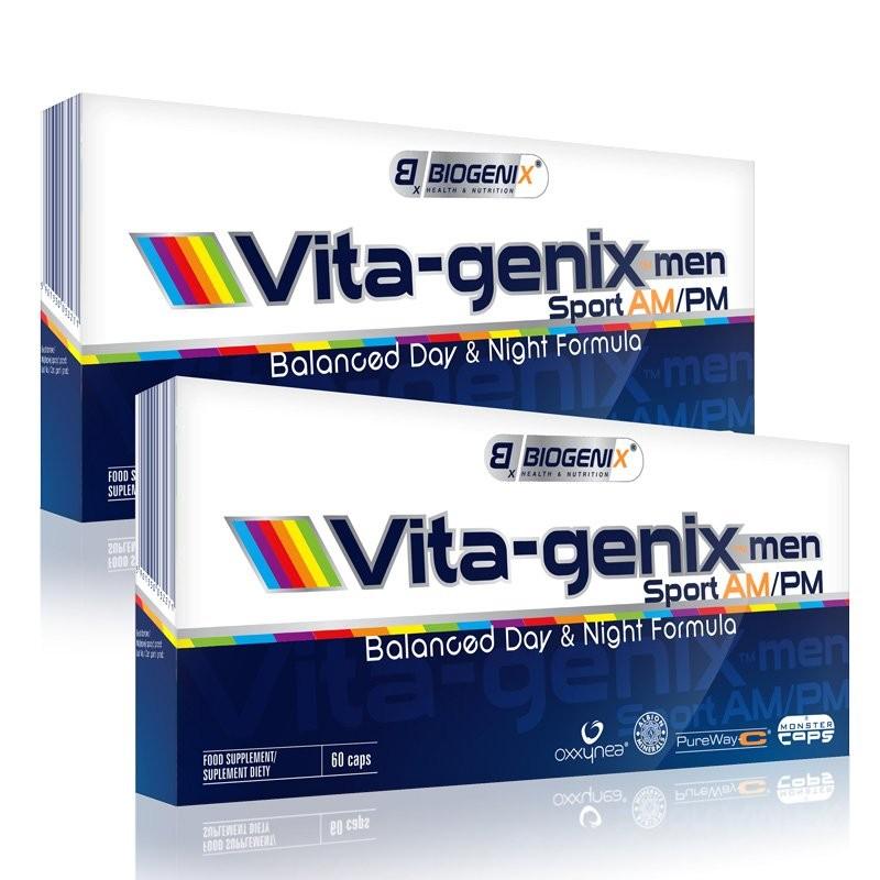 Biogenix Vita-genix™ Men Sport AM/PM