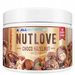 Krem orzechowy Allnutrition NutLove Choco Hazelnut 500g