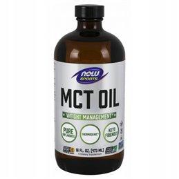 Olej MCT NOW FOODS MCT Oil Pure Liquid 473 ml