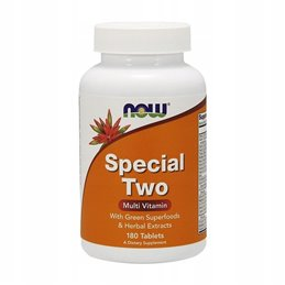 Witaminy NOW Foods Special Two 180 tab