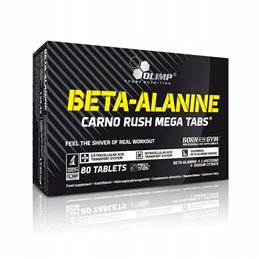 Aminokwasy OLIMP Beta Alanine Carno Rush 80 tab