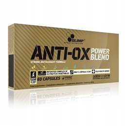 Suplement prozdrowotny OLIMP Anti-OX Power Blend 60 kaps