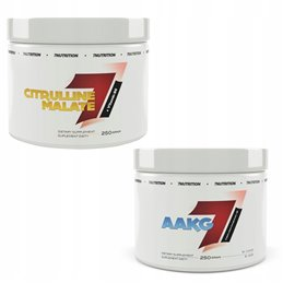 7NUTRITION AAKG - 250G + CITRULLINE MALATE 250g