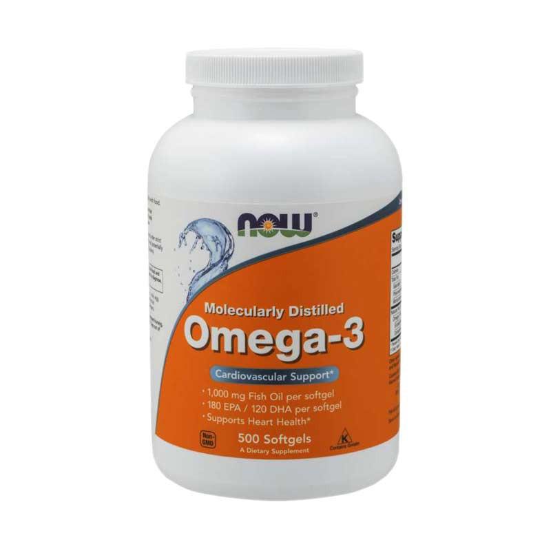 Kwasy tłuszczowe NOW Foods Omega 3 500 kaps