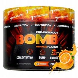 Suplement przedtreningowy 7Nutrition BOMB 240 g