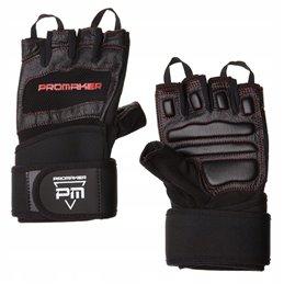 Rękawiczki Promaker ProGrip z Usztywniczami na nadgarstek PM-04-1030