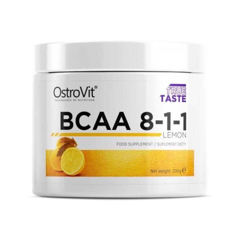 Aminokwasy OSTROVIT True Taste BCAA 8-1-1 200g