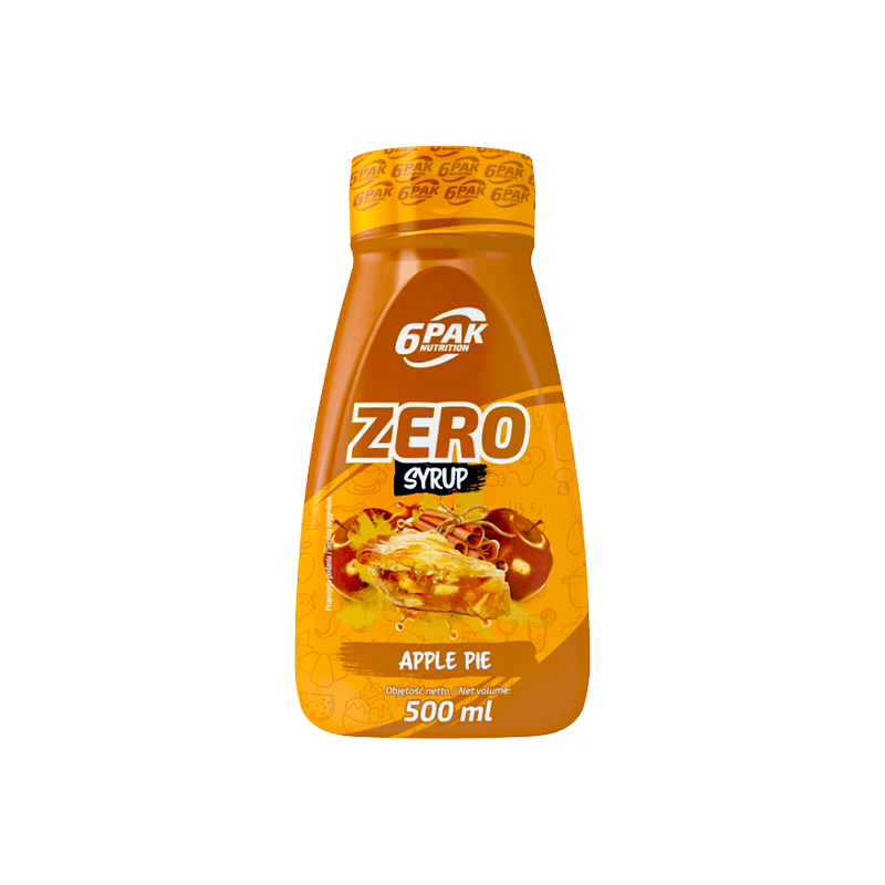 Syrop Zero 6PAK BAKED APPLE  500ML