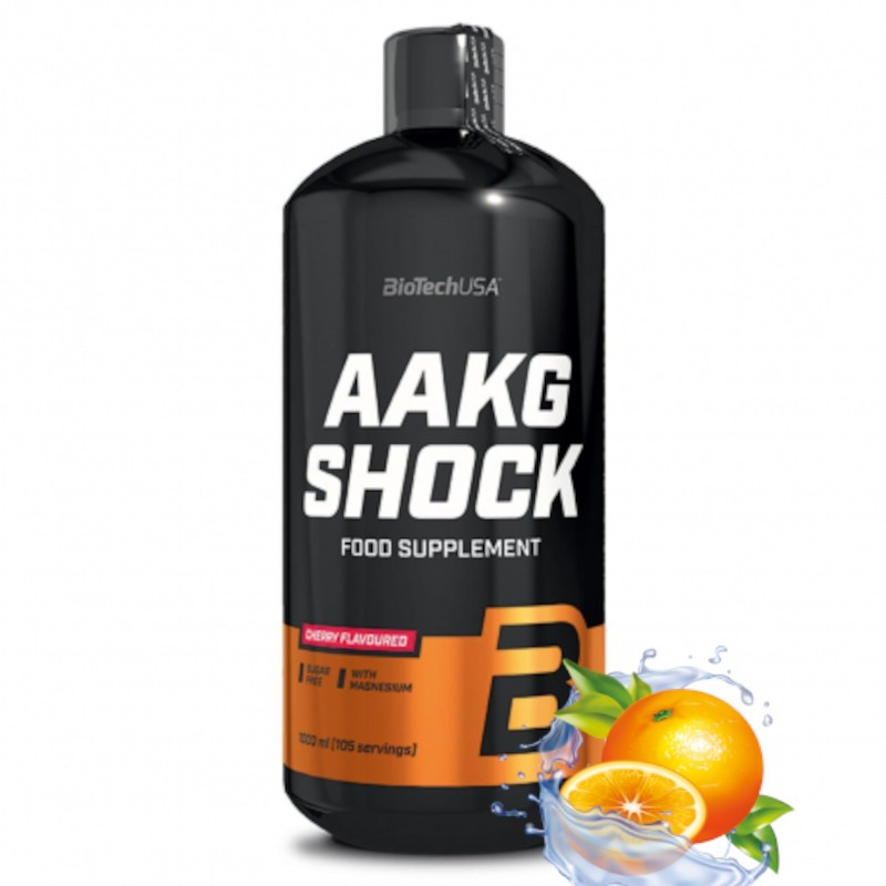 Suplement pompujący BIOTECHUSA AAKG Shock 1000ml