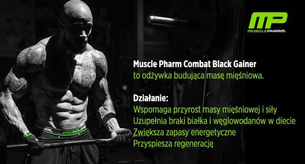 Znalezione obrazy dla zapytania combat black weight gainer