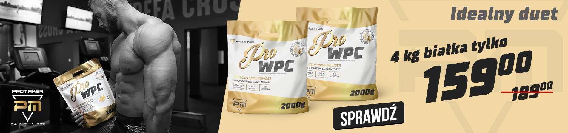 Pro WPC 2 x 2000g